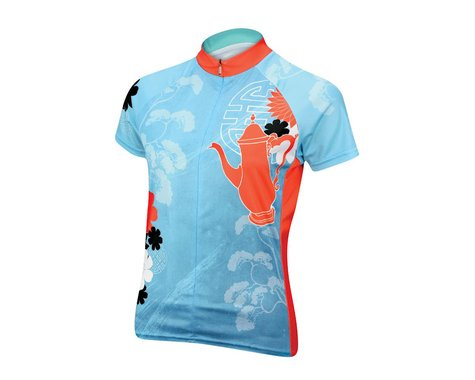 Primal Wear Tea Time Women's Short Sleeve Jersey - Closeout (Aqua) (Xsmall)