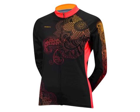 Primal Wear Women's Kashmir Long Sleeve Jersey - Performance Exclusive (Black/Pink)