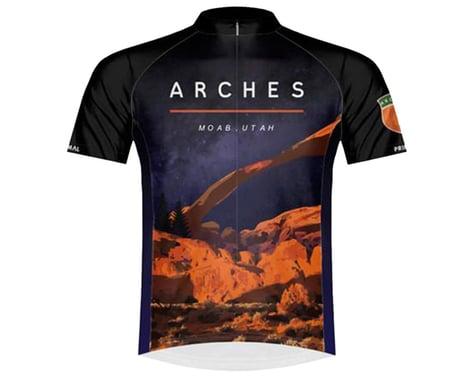 Primal Wear Men's Short Sleeve Jersey (Arches National Park) (XL)