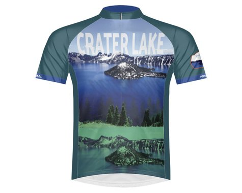 Primal Wear Men's Short Sleeve Jersey (LTD Crater Lake) (XL)