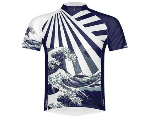 Primal Wear Men's Short Sleeve Jersey (Great Wave) (2XL)