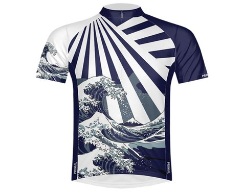 Primal Wear Men's Short Sleeve Jersey (Great Wave) (M)