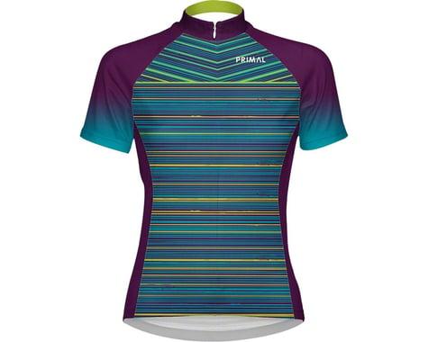 Primal Wear Kismet Women's Cycling Jersey (Blue/Green/Purple) (L)