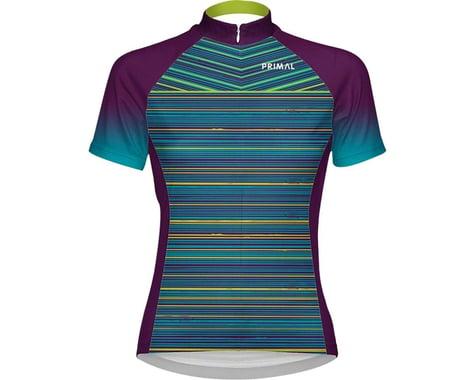 Primal Wear Kismet Women's Cycling Jersey (Blue/Green/Purple) (XL)