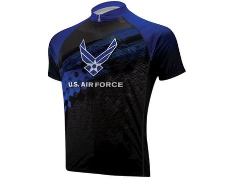 Primal Wear U.S. Air Force Flight Short Sleeve Jersey (Blue/Black) (Xlarge)