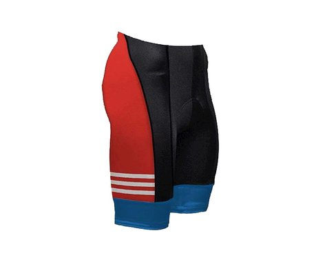 Primal Wear Coast Guard Vintage Shorts (White/Black/Red)
