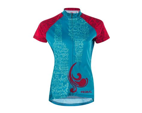 Primal Wear Lush Women's Jersey (Blue/Pink)