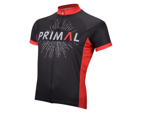 Primal Wear Roadhouse Short Sleeve Jersey (Black) (Xxlarge)