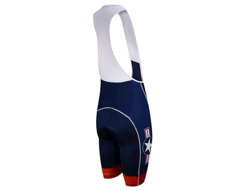 Primal Wear US Military Team 2015 Bib Shorts (Blue) (Medium)