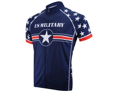 Primal Wear U.S. Military Team Short Sleeve Jersey (Blue) (Xxlarge)