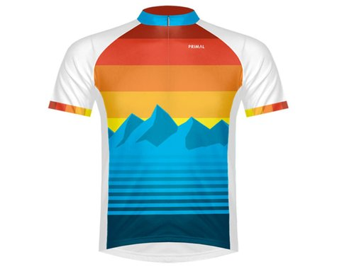 Primal Wear Men's Short Sleeve Jersey (Rise & Set) (L)