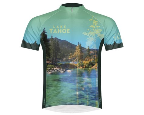 Primal Wear Men's Short Sleeve Jersey (Lake Tahoe) (S)