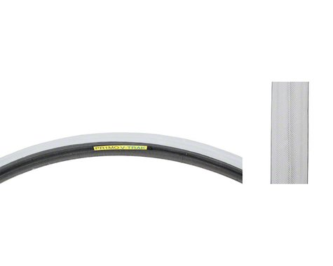 Primo Wheelchair Tire - 24 x 1, Clincher, Wire, Gray, Smooth Tread