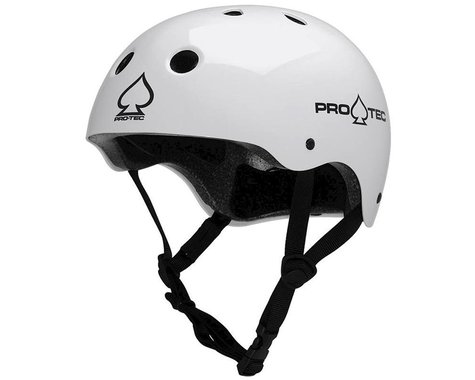 Pro-Tec Classic Helmet (Gloss White) (S)