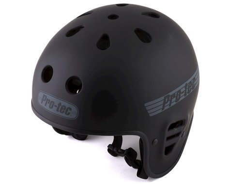 Pro-Tec Full Cut Certified Helmet (Matte Black) (XL)