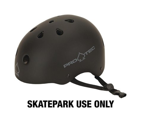 Pro-Tec Classic Skate Helmet (Matte Black) (S)