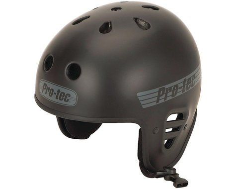 Pro-Tec Full Cut Certified Helmet (Matte Black) (L)