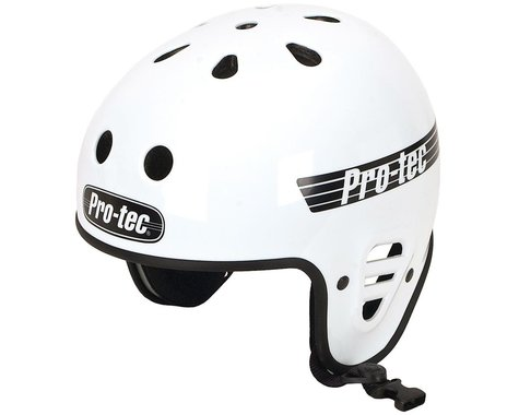 Pro-Tec Full Cut Certified Helmet (Gloss White)