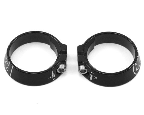 Pro Alloy Lock Ring Set (Black Anodized)