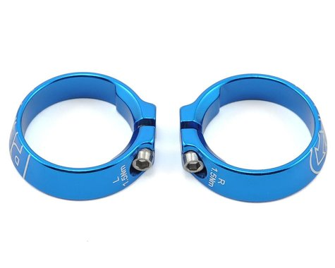 Pro Alloy Lock Ring Set (Blue Anodized)