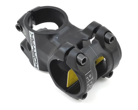 Pro Koryak Stem (Black) (31.8mm Black) (40mm) (0°)