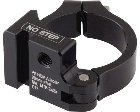 Problem Solvers Direct Mount Adaptor, 26mm offset, 68/73mm BB, 34.9mm clamp w/sh