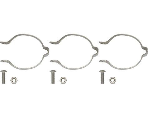 Problem Solvers 31.8 Stainless Clamp-on Cable Guides Set/3
