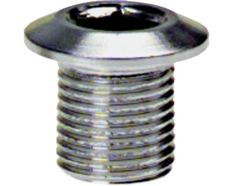 Problem Solvers 8mm Inner Chainring Bolts Silver Alloy