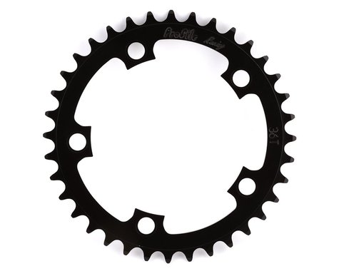 Profile Racing Chainring (Black) (37T)