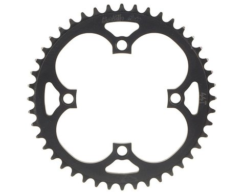 Profile Racing 4-Bolt Chainring (Black) (38T)