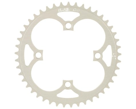 Profile Racing 4-Bolt Chainring (Silver) (37T)