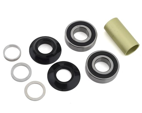 Profile Racing Mid Bottom Bracket Kit (Black) (19mm)