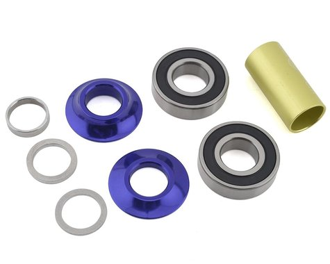Profile Racing Mid Bottom Bracket Kit (Purple) (19mm)