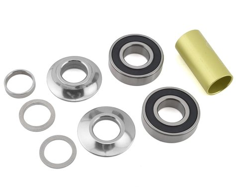 Profile Racing Mid Bottom Bracket Kit (Silver) (19mm)