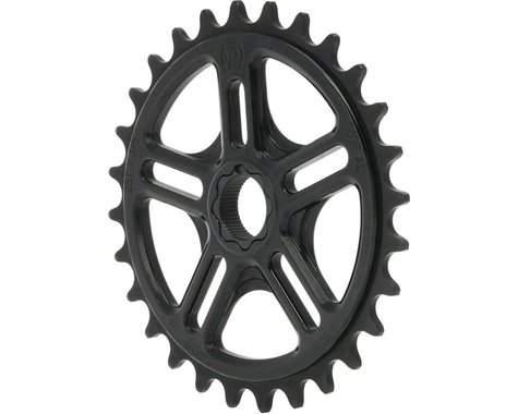 Profile Racing Spline Drive Sprocket, 28t Black for 19mm 48 Spline Spindles