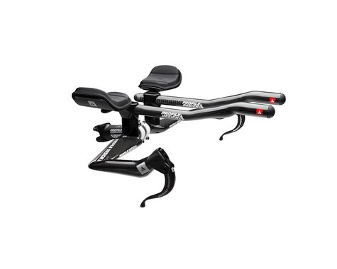Profile Design Aeria T2 Wing Carbon Base Bar w/ T2+ Carbon Aerobar Extensions (Black)