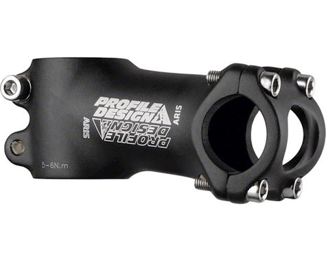 Profile Design Aris OS Stem (Black) (31.8mm) (60mm) (7°)