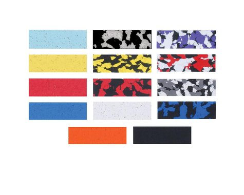 Profile Design Handlebar Tape (Black/Red/White Splash)
