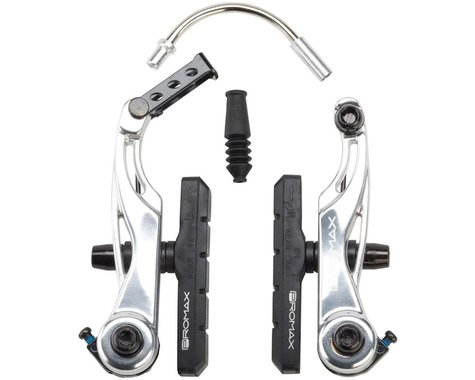 Promax P-1 Linear Pull Brakes 85mm Reach Silver