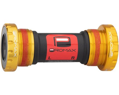 Promax EX-1 Alloy external Sealed Bottom Bracket 68/73mm Gold