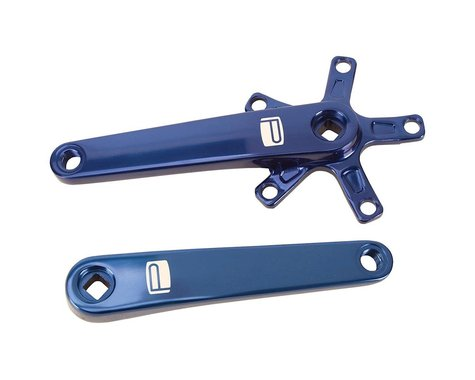 Promax SQ-1 Square Taper JIS Crank Arms (Blue) (135mm)