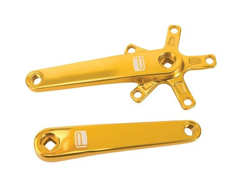Promax SQ-1 Square Taper JIS Crank Arms (Gold) (135mm)