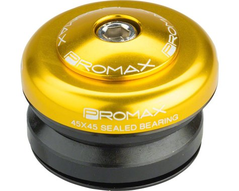 "Promax IG-45 Alloy Sealed Integrated 1"" Adaptor Headset (Gold)"