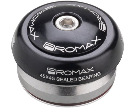 "Promax IG-45 Integrated 1-1/8"" Headset (Black) (Alloy Sealed) (IS42/28.6) (IS42/30)"