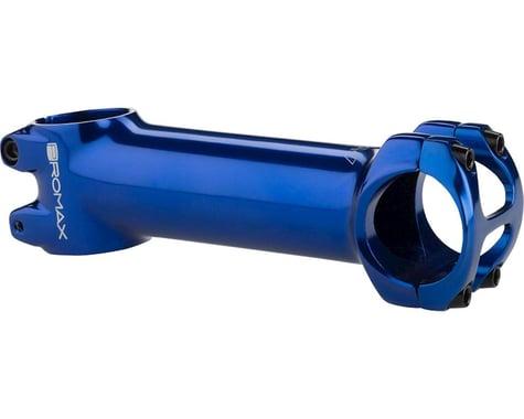 """Promax DA-1 Stem - 90mm, 31.8 Clamp, +/-7, 1 1/8"""", Aluminum, Blue"""
