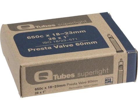 Q-Tubes Superlight 650c x 18-23mm 60mm Presta Valve Tube