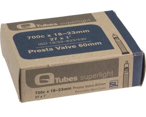 Q-Tubes Superlight 700c x 18-23mm 60mm Presta Valve Tube