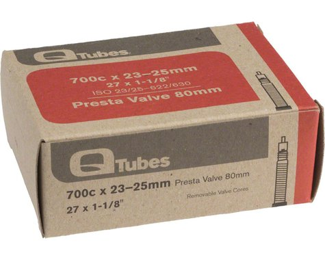 Q-Tubes 700c Inner Tube (Presta) (23 - 25mm) (80mm)
