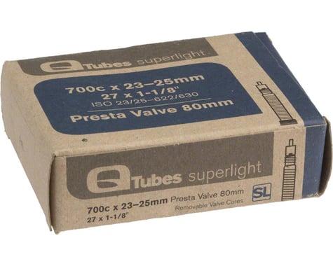 Q-Tubes Superlight 700c Inner Tube (Presta) (23 - 25mm) (80mm)