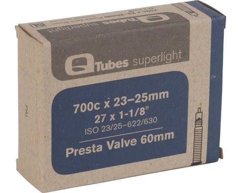 Q-Tubes Superlight 700c Inner Tube (Presta) (23 - 25mm) (60mm)